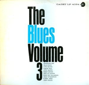 VVAA – The Blues Volume 3 (LP Argo 1964) 1