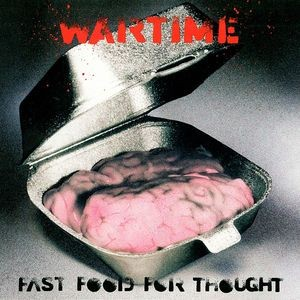 WARTIME - Fast Food For Thought (12i,EP Chrysalis 1990)