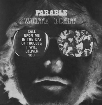 WHITE LIGHT - Parable (LP,RE,RM Sommor 1974,2016)