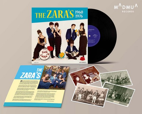 "ZARA'S, THE - 1960-1976 (10"" Madmua Records 2019)"